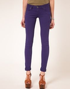 Dr Denim Jamie Colored Skinny Jeans