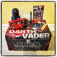 Yesterday's Vader Haul - Including Bank Notebook & Splat Ball!
