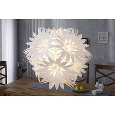 Moderne hanglamp Fiore wit - 16124