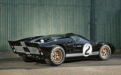 1966 Ford Ferrari-Killer. Alternatively known as a GT40.