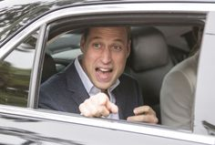Prince William engages with onlookers on his final day touring Canada's west coast. Photo: REX/Shutterstock