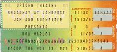 ticket concert bob marley - Google zoeken