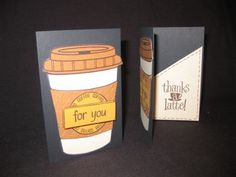 3. Stamps of Life - coffee4two - gift card holder