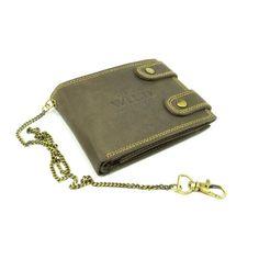 Peněženka kožená pánská s přezkou - peněženky AHAL Wallet, Chain, Fashion, Pocket Wallet, Moda, Fashion Styles, Diy Wallet, Fashion Illustrations, Purses