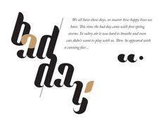 Lullaby Font by Ania Szerszen, via Behance