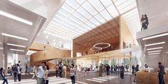 Gallery of Henning Larsen Wins Competition for Microclimate-Creating Civic Center in Toronto - 4