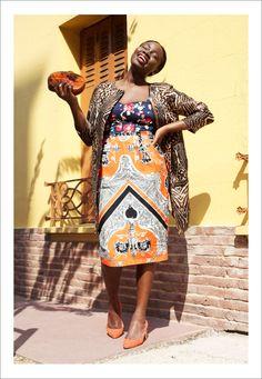 Sarah Diouf (Ghubar Magazine). Inspired by Dolce & Gabbana Spring/Summer 2013