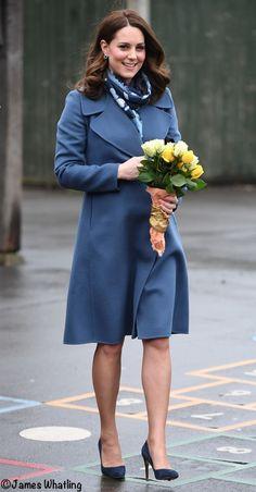 23.01.2018 Kate łączy stare i nowe informacje na temat zdrowia psychicznego dzieci - co Kate nosił