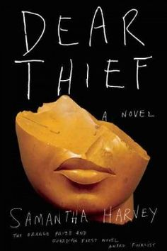 Dear thief by Samantha Harvey.  Click the cover image to check out or request the mystery kindle