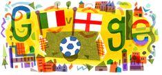 Google Doodles - UEFA Euro 2020 Finals Love Couple Wallpaper, Estilo Kate Middleton, Art Optical, Google Doodles, Cool Pins, Home Art, Finals, Applique, Branding