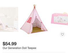 Our Generation Teepee   #target #teepee