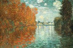 Claude Monet - Effet d'automne à Argenteuil (1873)