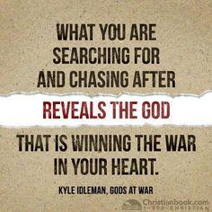 Examine your hearts daily