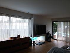 Μοντέρνο τζάκι Home, Decor, Curtains