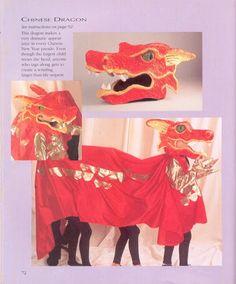 Pin Como Hacer Un Disfraz De Dragón Chino Para Dos Personas on ...