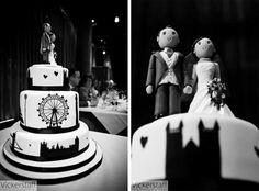 A wedding cake spectacular: 14 contemporary cake ideas | http://english-wedding.com/2012/05/a-wedding-cake-spectacular-14-contemporary-cake-ideas/