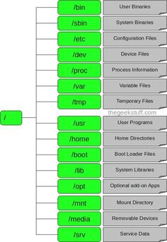 Linux Directory Structure (File System Structure) Explained with Examples