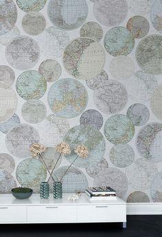 Tapete | Fototapete | moderne Tapete | Mural Tapete | Wandgestaltung | Wandverkleidung | Tapete Schlafzimmer | Tapete Wohnzimmer | Tapete Flur | Tapete Kinderzimmer | Wanddeko | Wanddekoration | Designer-Tapete | Wandfarbe | Vliestapete | Weltkarte | Globus | Vintage-Karte | Vintage Weltkarte | Vintage-Tapete | braun | beige | mintgrün | türkis