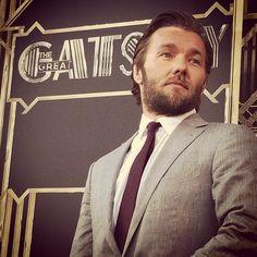 Any Tom Buchanan fans? #JoelEdgerton arrives at the #GatsbyPremiere #TheGreatGatsby