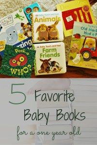 5 favorite baby books for a one year old
