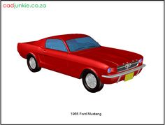 CAD Format: AutoCAD 2013 Block Type: 3D Mesh Units: mm Description 1965 Ford Mustang Autocad, 3d Mesh, 3d Cad Models, Cad Blocks, Ford Mustang, Muscle Cars, 3 D, Transportation, The Unit