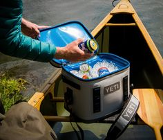 The Hopper Flip 12 is a new cooler by YETI, it offers bombproof construction to endure years of hard use and abuse. Crafted with one inch thick ColdCell insulation and protected by a DryHide thermoplastic urethane shell, the rugged cooler can withsta