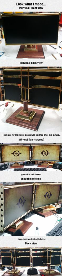 The Most Amazing Steampunk Monitor Ever