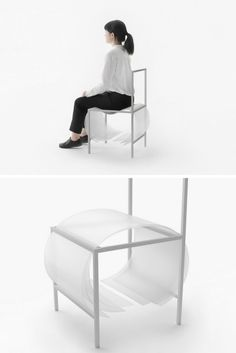 Bouncy Layers furniture series by Nendo