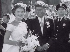 JOHN F.KENNEDY AND JACQUELINE WEDDING - FOTOGRAFI D'AUTORE BEAUTIFUL PICTURES