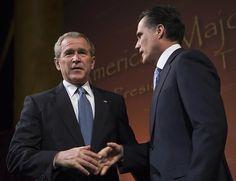 Mr. President, you are my hero! 18 Ways Mitt Romney Is Just Like George W. Bush | Rolling Stone
