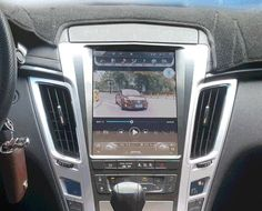 """10.4"""" Tesla-style Vertical Screen Android Navi Radio for Cadillac CTS 2008 - 2013 CTS-V 2009 - 2014"""