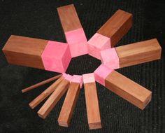 3. Scala marrone e torre rosa: estensioni | Lapappadolce