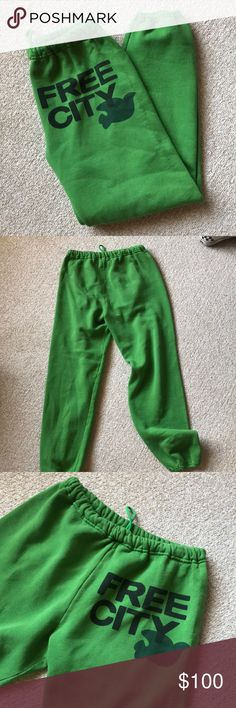 Free city sweats My absolute favorite pair. Less room for negotiation on these. The thicker winter fabric. So comfortable. free city Pants