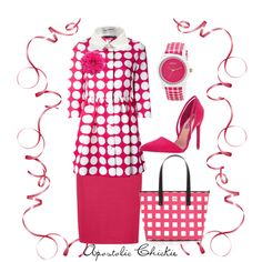 """""""Raspberry Delight"""" by apostolicchickie on Polyvore"""