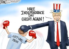 Political Cartoon: Happy Independence Day – Big League! - BB4SP