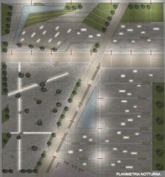 View full picture gallery of Piazza Del Polo Universitario Della Folcara. Architecture Plan, Landscape Architecture, Urban Landscape, Landscape Design, Pavement Design, Planer Layout, Home Landscaping, Master Plan, Urban Planning