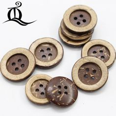 Instead of plastic buttons on your clothes - why not try natural product buttons. #green #ecofriendly #healthyplanet #environment #gifts #lifestyle #greenhome #gogreen #ourplanet