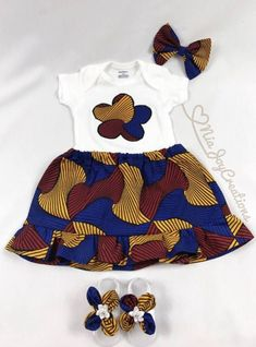 Love it and e you bubby c Love o Baby African Clothes, African Dresses For Kids, Latest African Fashion Dresses, African Print Fashion, Baby Girl Dress Patterns, Baby Girl Dresses, African Attire, African Wear, Ankara Mode