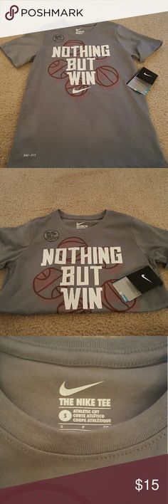 Nike Dri-Fit Boys Tee - Size S New with tags Boys Nike Dri-Fit Tee, size Small. Nike Shirts & Tops Tees - Short Sleeve