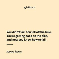 """3,396 Likes, 83 Comments - Aurora James (@aurorajames) on Instagram: """"I don't do Failure. Failure is a finite thing. Mistakes I do, those are just learning pit stops on…"""""""