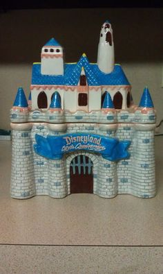 Disney Cookie Jar Limitied Edition 40th Anniversary