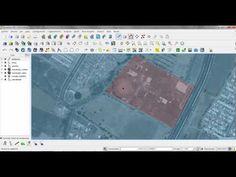 Digitalizar poligonos, puntos y lineas en QGIS - YouTube