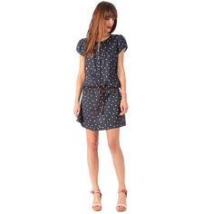 Sessun Agostino Dress Navy Dot