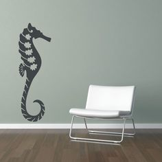 would love to have this decal in a Teal colored bathroom!