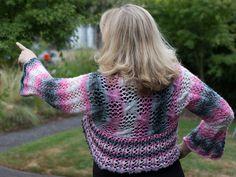 Ravelry: Sparkly Shrug Muster von Wanda Pratt