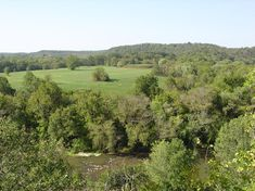 Mound Bottom in Cheatham County, Tennessee.