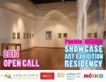 Arquetopia Showcase Art Exhibition Residency - Puebla, Mexico - 2013