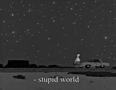 Stupid world #Homer #Simpsons