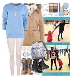 """""""Skating with Sophie, Gemma and Lux"""" by valeria-angel ❤ liked on Polyvore featuring Naf Naf, Topshop, Free People, By Sun, With Love From CA, Olivia Burton, Lipsy and River Island"""