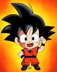 Chibi Goku, Anime Chibi, Anime Art, Manga Comics, Dbz, Chibi Marvel, Marvel Dc, Dragon Ball Gt, Manga Illustration